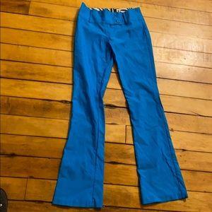 90s crazy blue bell bottoms